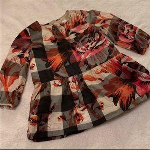 Burberry azalea dress baby girl 12M